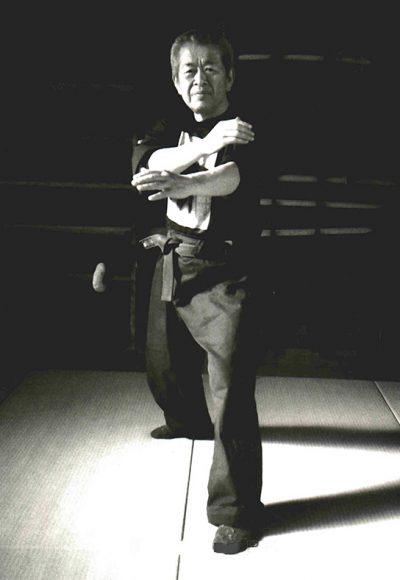 the venerable octogenarian martial artist hatsumi sensei