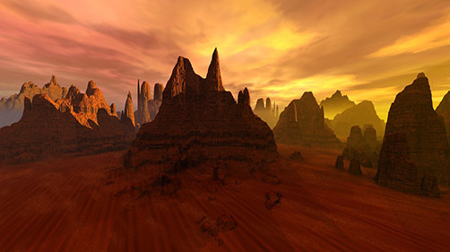 red earth valley