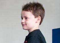 young boy martial artist